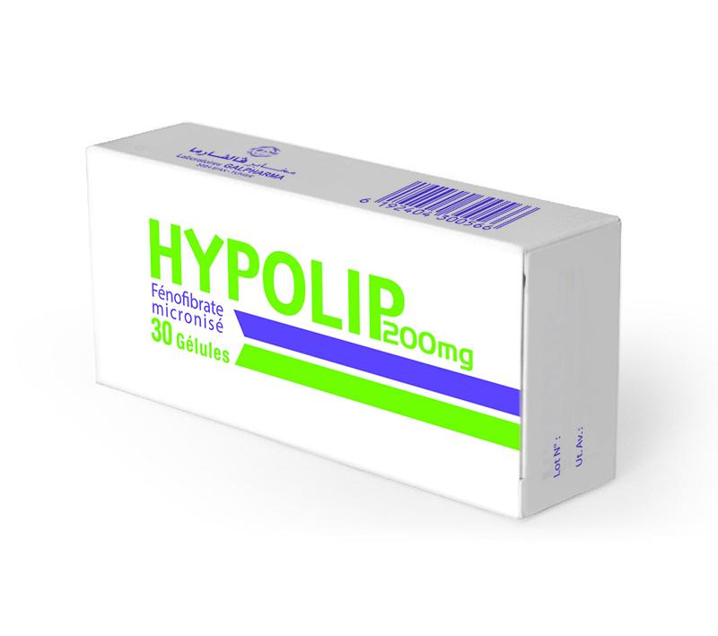 HYPOLIP - Laboratoires Galpharma